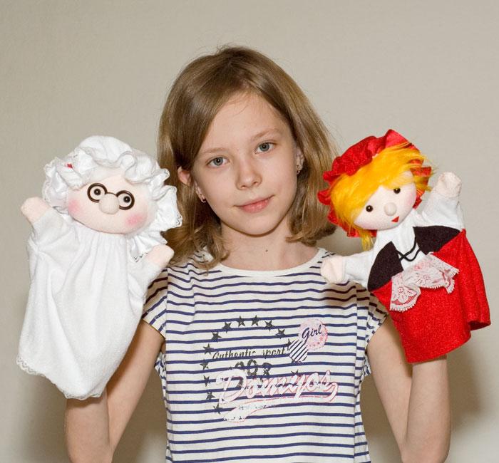 Кукла бибабо своими руками фото