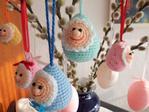 Вяжем пасхальные яйца-малютки крючком. Обсуждение на LiveInternet - Российский Сервис Онлайн-Дневников