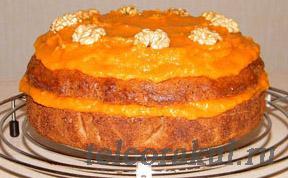 Как сделать торт постный 231
