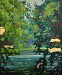 Превью 5 romantic garden with lake (585x700, 96Kb)
