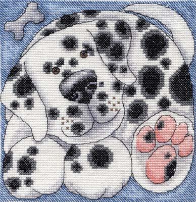в Игрушках и Животных были все вот эти из серии Cats and Dogs Fun Range DMC by Kate Mawdsley. нашёлся 8-ой.