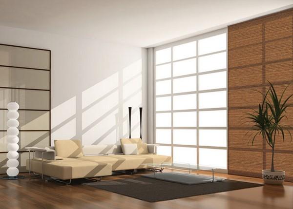 Стильные японские шторы в интерьере вашего дома 4 (600x429, 62Kb)