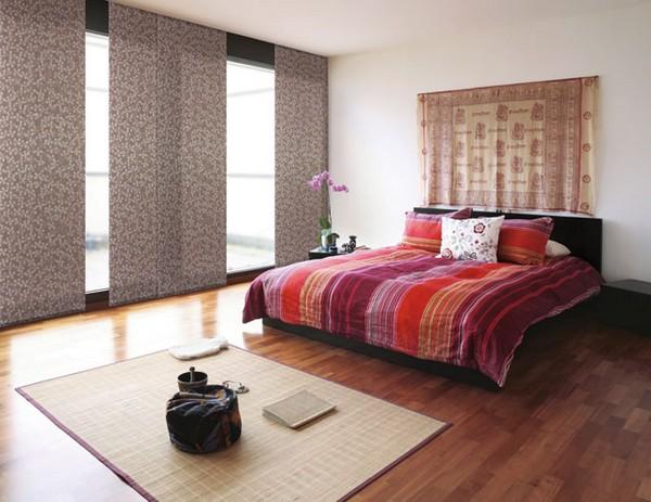 Стильные японские шторы в интерьере вашего дома 6 (600x463, 93Kb)