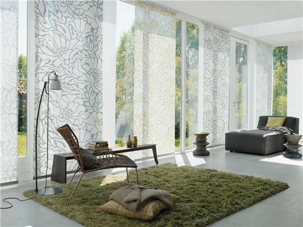 Стильные японские шторы в интерьере вашего дома 10 (600x450, 86Kb)