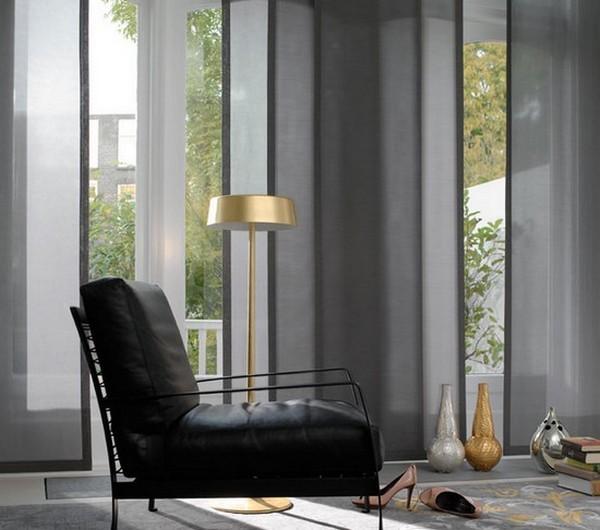 Стильные японские шторы в интерьере вашего дома 11 (600x530, 65Kb)