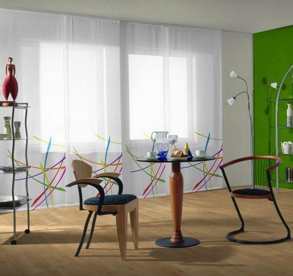 Стильные японские шторы в интерьере вашего дома 13 (600x565, 66Kb)