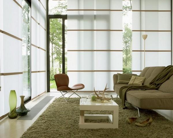 Стильные японские шторы в интерьере вашего дома 18 (600x479, 84Kb)