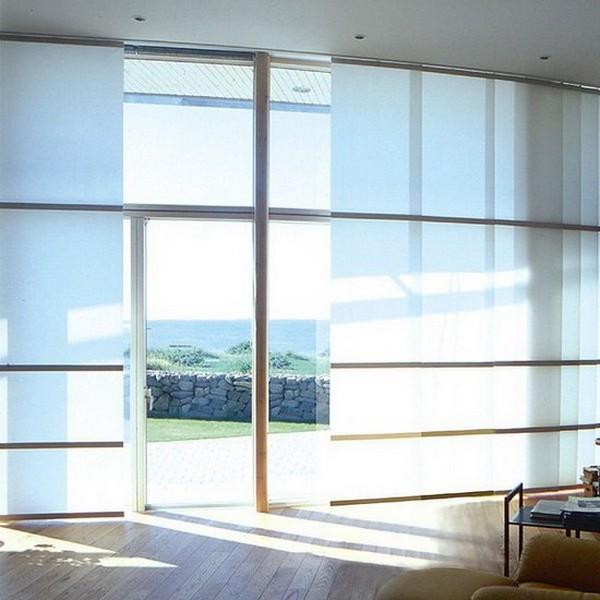 Стильные японские шторы в интерьере вашего дома 20 (600x600, 66Kb)