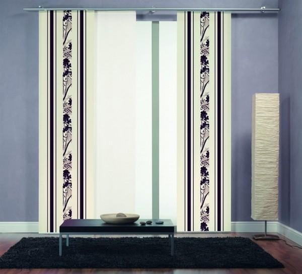 Стильные японские шторы в интерьере вашего дома 23 (600x544, 62Kb)
