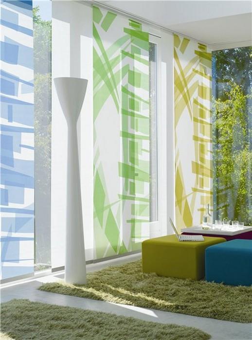 Стильные японские шторы в интерьере вашего дома 27 (518x700, 89Kb)