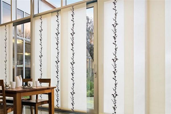 Стильные японские шторы в интерьере вашего дома 29 (600x400, 55Kb)