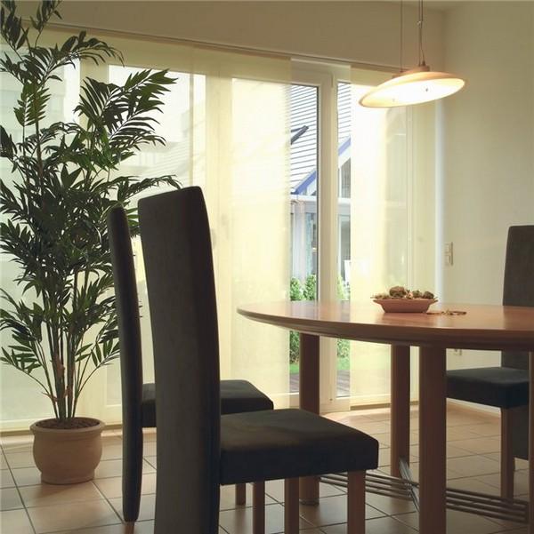 Стильные японские шторы в интерьере вашего дома 34 (600x601, 83Kb)