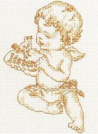 схема вышивки крестом.
