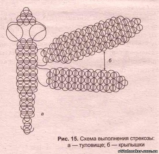Плетение брелков из проволоки.