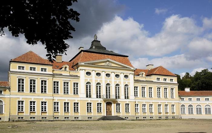 Дворец Рачиньских в селении Рогалин 59821