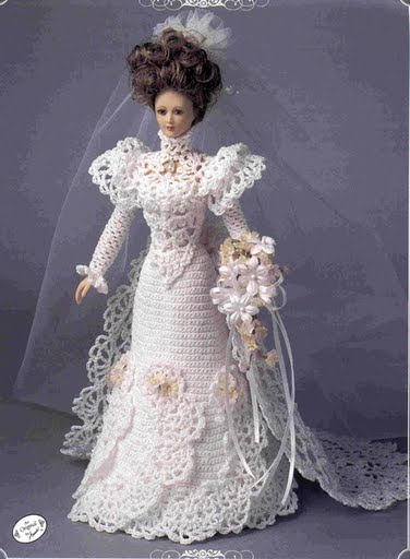 свадебное платье для барби бп