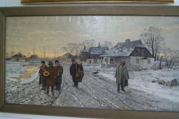 Дворец Рачиньских в селении Рогалин 49937