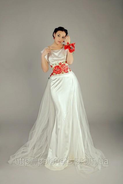 стиле платье в русском народном стиле.