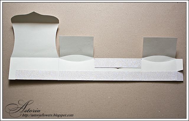 Бумажный ларец схема.