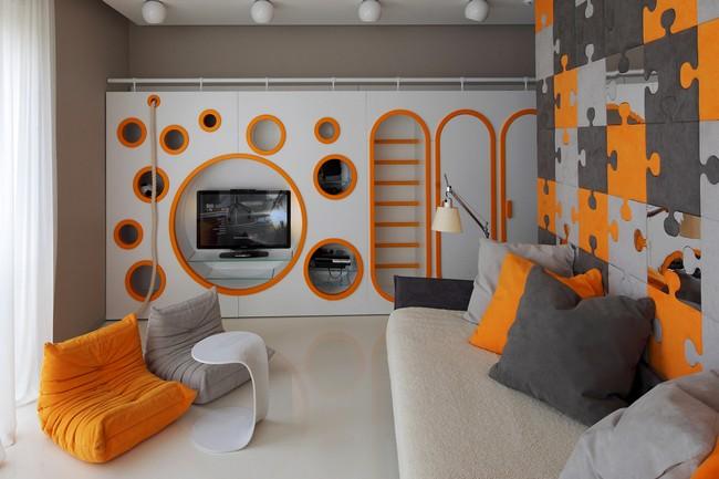 Фото интерьера московской квартиры 10 (650x433, 64Kb)