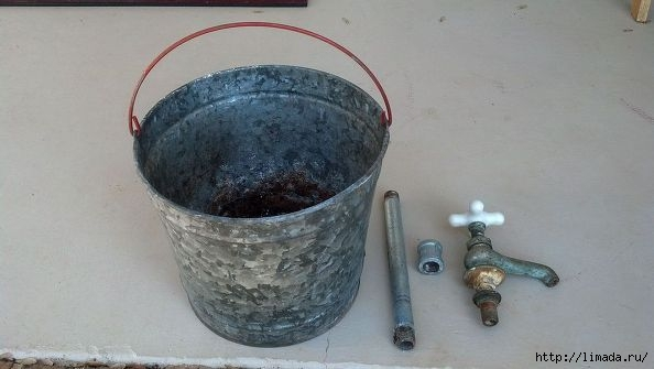 vintage-bucket-and-faucet-planter-container-gardening-flowers-gardening (1) (594x335, 85Kb)