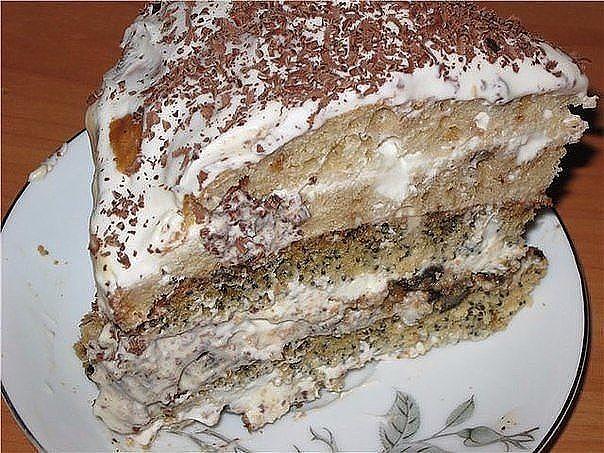 Нежный тортик рецепт