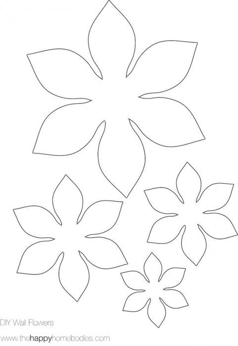 Как сделать объемный цветок из бумаги своими руками видео