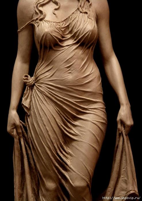 Скульптура матери царя Соломона - Вирсавии. Автор Бенджамин Виктор4 (494x700, 215Kb)