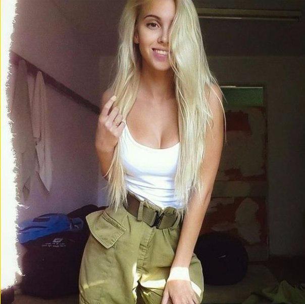 Блондинки в армии фото 44-976