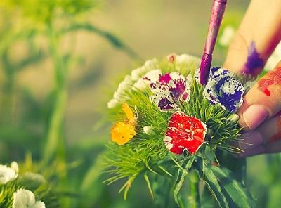 Нарядный цветок