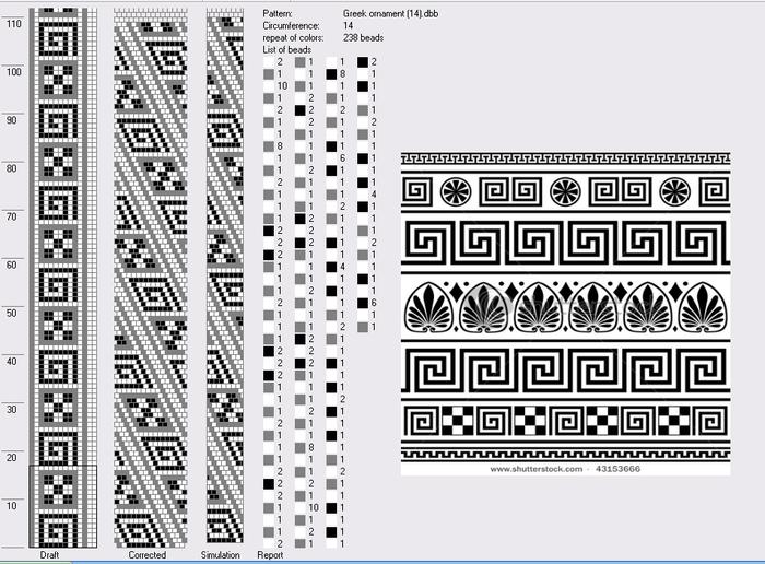 100 схем для вязания жгутов на