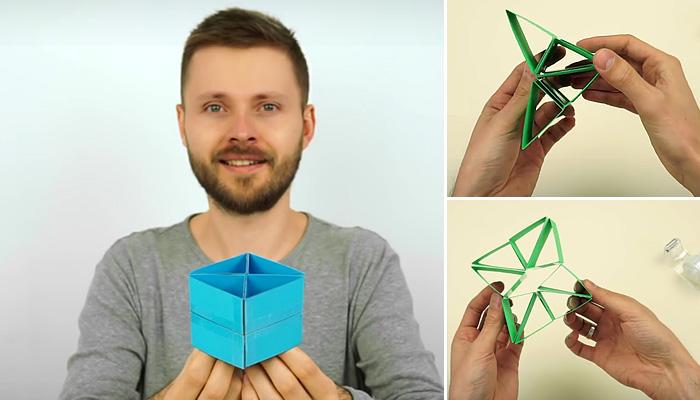Как сделать игрушку трансформер своими руками из бумаги