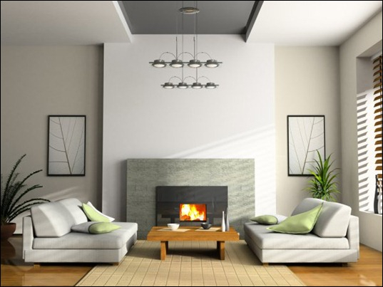 How to decorate living room with fireplace and tv