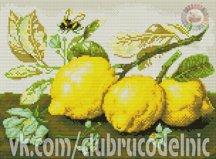 Сочные лимоны (700x515, 645Kb)