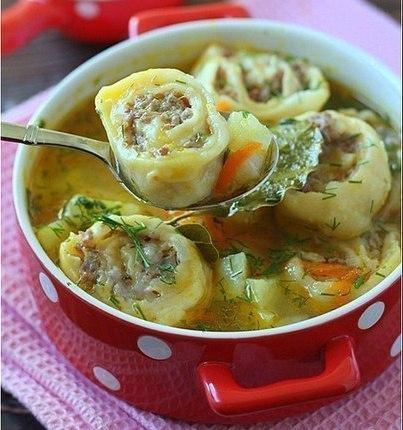 суп с пельменями рецепты с фото