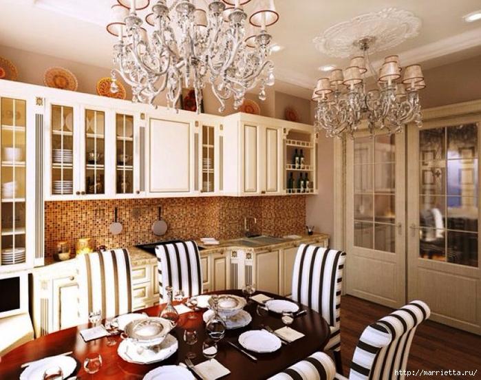 Кухня в классическом стиле (3) (700x552, 324Kb)