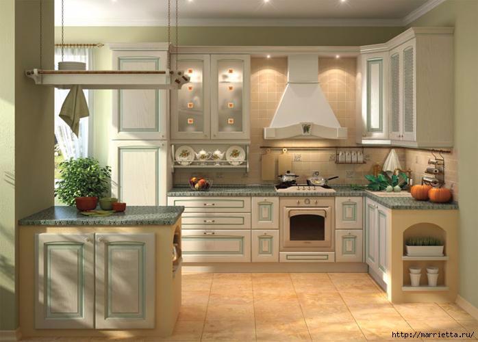 Кухня в классическом стиле (8) (698x500, 147Kb)