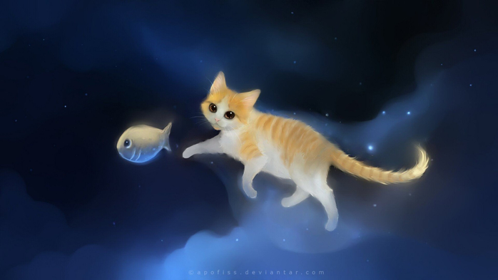 Chasing-poisson-chat-ciel-peinture-1152x2048 (700x393, 146Kb)