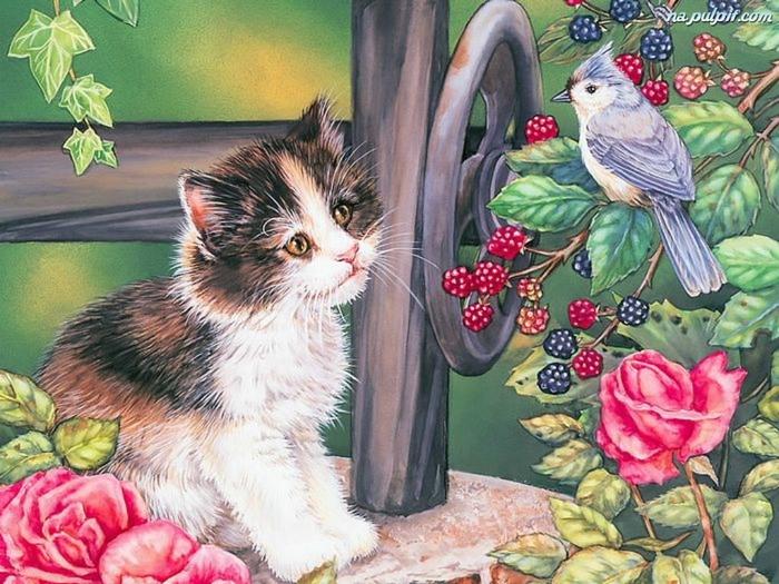 jezyny-kotek-ptaszek-roze (700x525, 435Kb)
