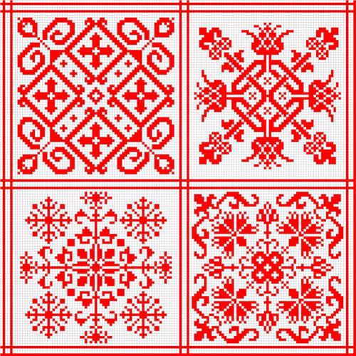 Значение орнаментов в славянской вышивке
