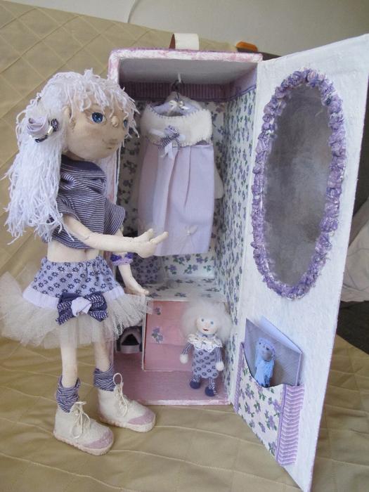 Упаковка для кукол 72