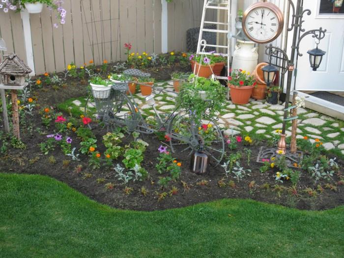 Идеи для цветов на даче