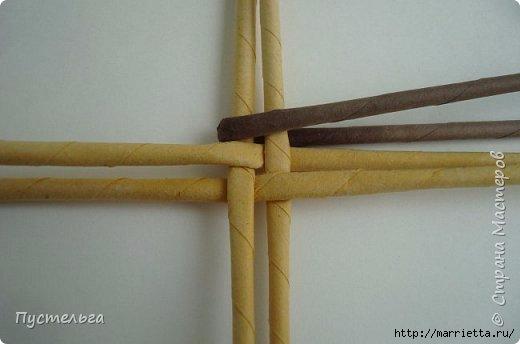Плетение из газетных трубочек. Птичка СИНИЧКА (3) (520x344, 65Kb)