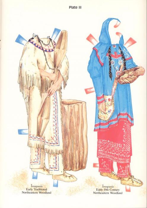 NA Costumes Plate III (496x700, 332Kb)