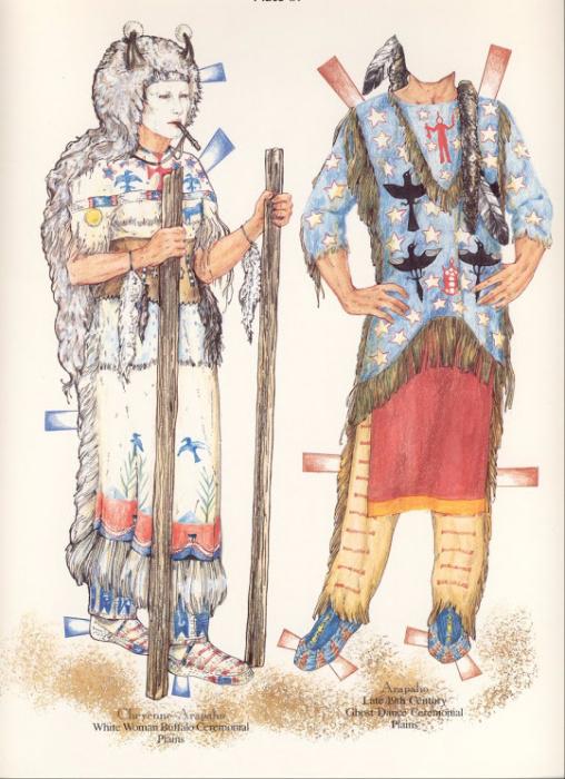 NA Costumes Plate IX (508x700, 382Kb)