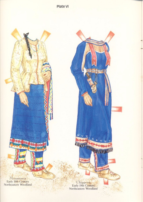 NA Costumes Plate VI (496x700, 299Kb)