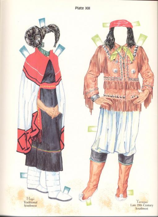 NA Costumes Plate XIII (510x700, 311Kb)