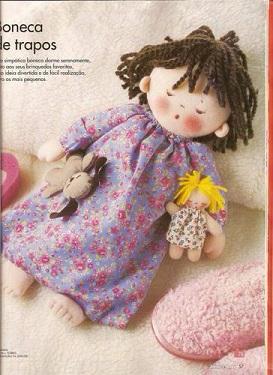 muñeca idea para guarda pijama1а (273x375, 145Kb)