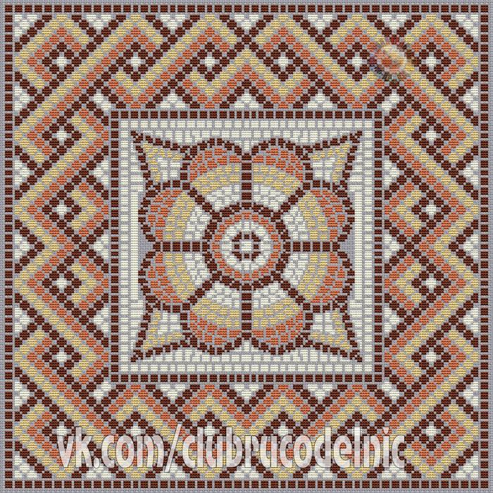 Подушка Римская мозаика (700x700, 1000Kb)
