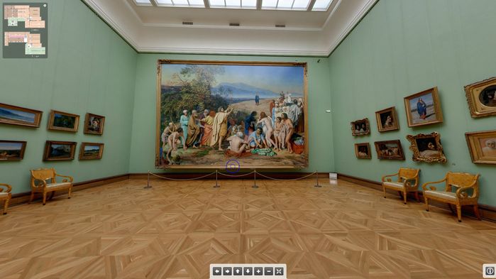 Виртуальная экскурсия галерея